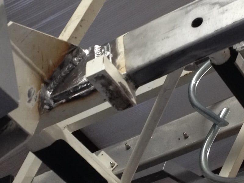 Steel & Aluminum Ladder Section Weld Repair