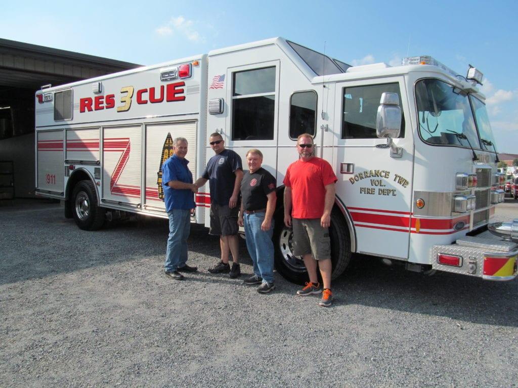 Pierce Rescue Refurb
