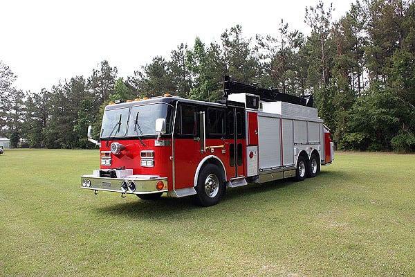 1990 Spartan Saulsbury Heavy Rescue Fire Line Equipment