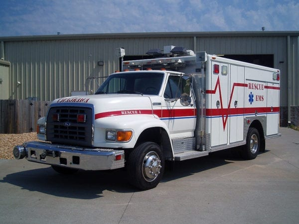 1997 Ford Walk Around Rescue For Sale