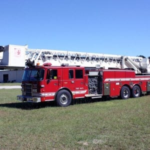 Pierce 100' Ladder Platform For Sale