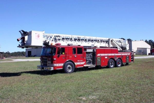 Pierce 100' Ladder Platform For Sale