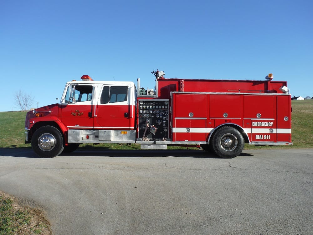 Used Fire Trucks : Used fire truck deliveries archives line equipment