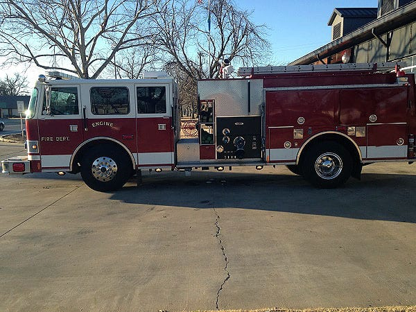 Pierce Top Mount Pumper For Sale