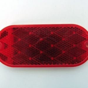 31-410090 Oval Red Reflector