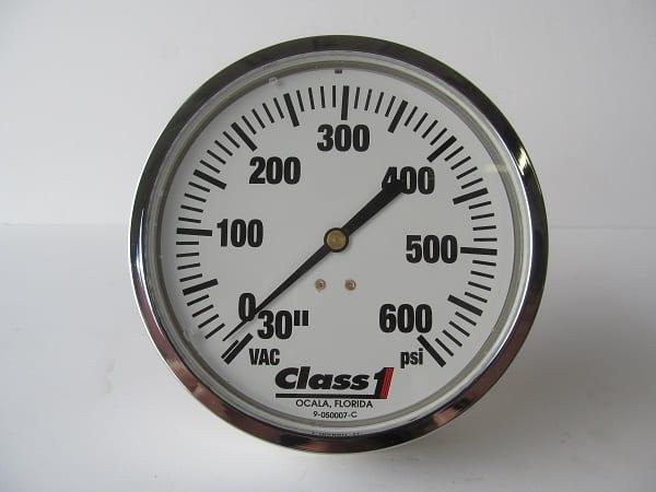 31-514291 Class 1 4.5in Pressure Gauge