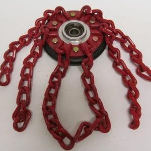 chain-wheel-assem-170mm-red