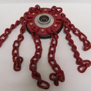 osc0925-al-chain-wheel-assembly-190mm-left