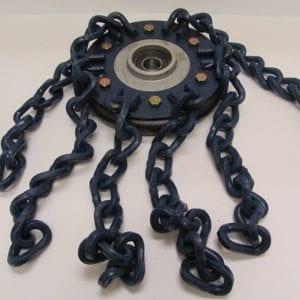 osc0925-ar-chain-wheet-assem-190mm-right