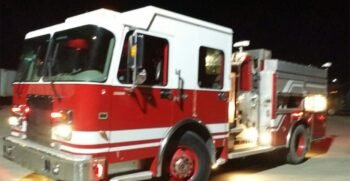 Providence Fire & Rescue, NC Purchases 2001 Spartan Rescue Pumper