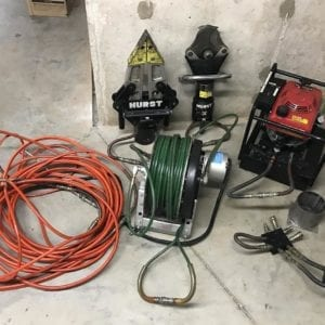 used rescue tools