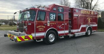 New E-ONE Rescue Pumper Delivery