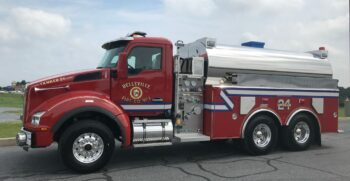 New Delivery – Summit Elliptical Tanker