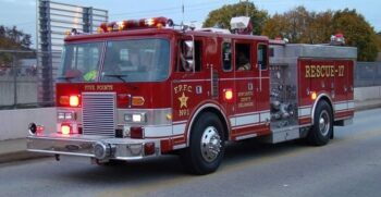 Another one sold!  Pierce Rescue Pumper