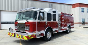 New E-ONE Typhoon Pumper Delivered