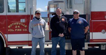 Congratulations to Parrott's Chapel Community Fire Department